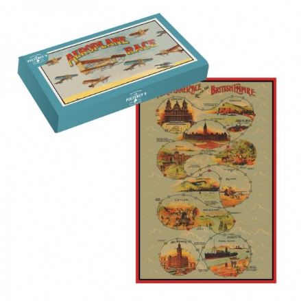 Aeroplane Race Board Game